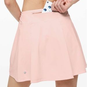 NEW! Lululemon Pace Rival Skirt Pink Extra Long 6